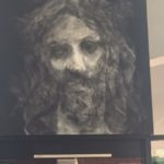 Artwork in Church portrait of Christ