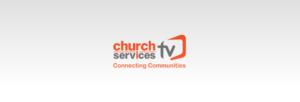 Church Service TV Banner image