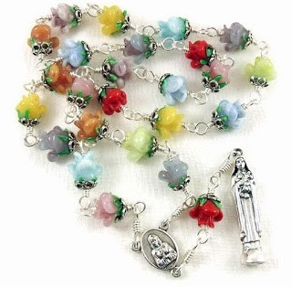 Rainbow of Roses Saint Therese Chaplet