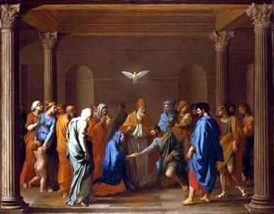Marriage - POUSSIN, Nicolas