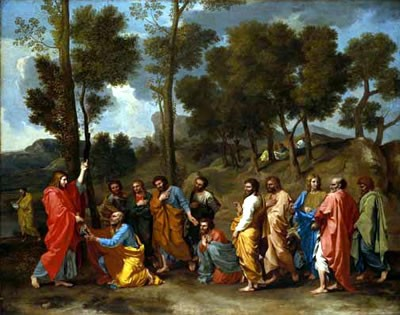 Ordination - POUSSIN, Nicolas