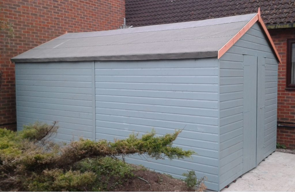 Shed complete
