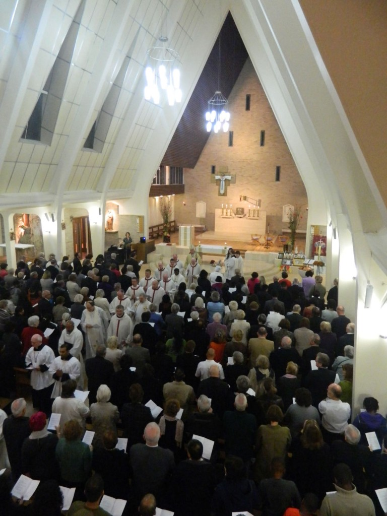 Vigil Mass for the Feast of All Saints - 31st October 2011