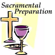 Image result for sacramental preparation
