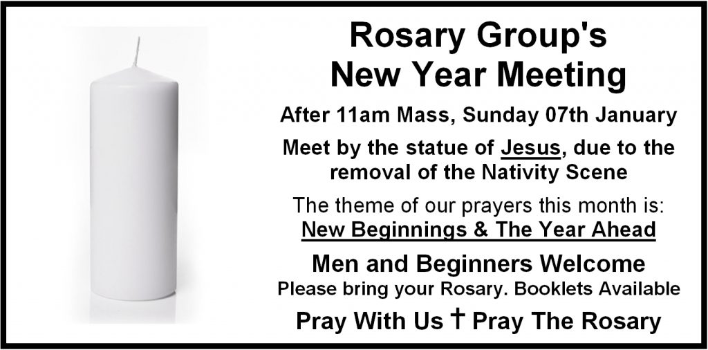 Rosary Group meeting in 2018 | Roman Catholic Church of St Edmund