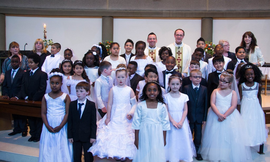 First Communion Somers Town (1 of 1)