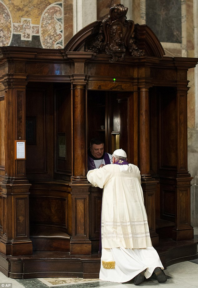 Pope Francis-confession