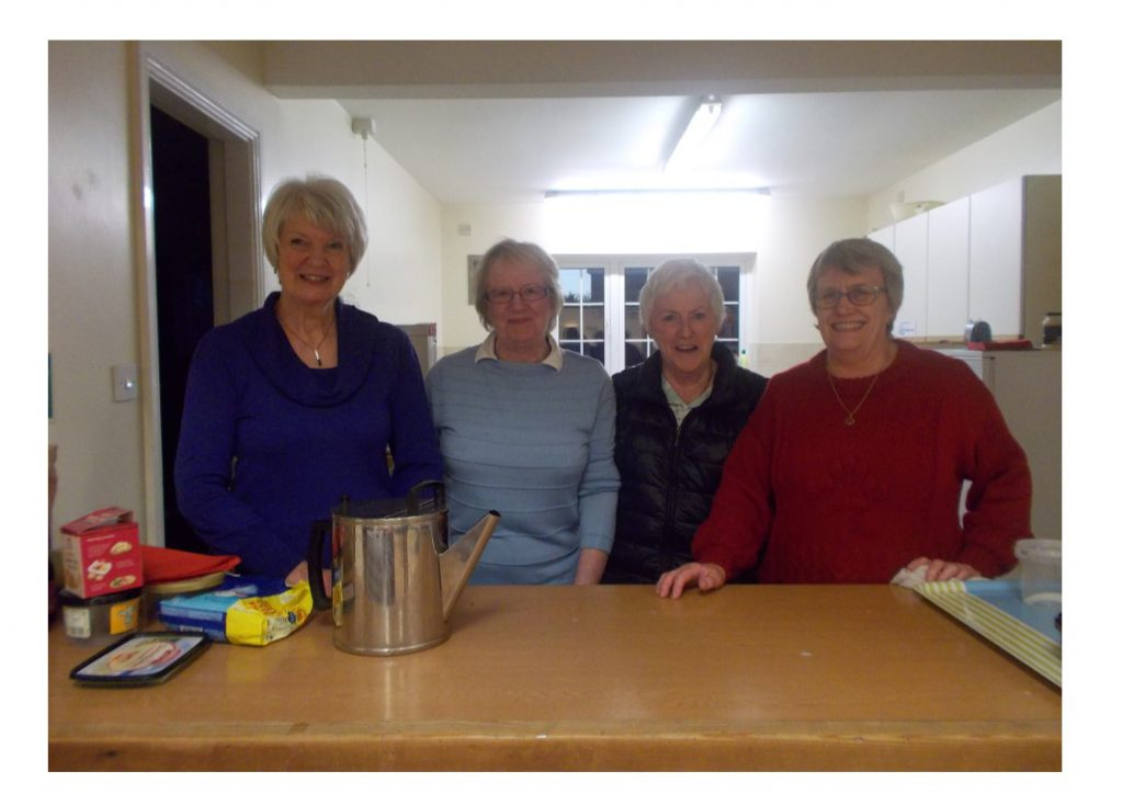 Caption: Ann Roberts, Paula Goodfellow, Nikki Caesar-Gordon and Ethna Clarke – The Loyola Club volunteer organisers.