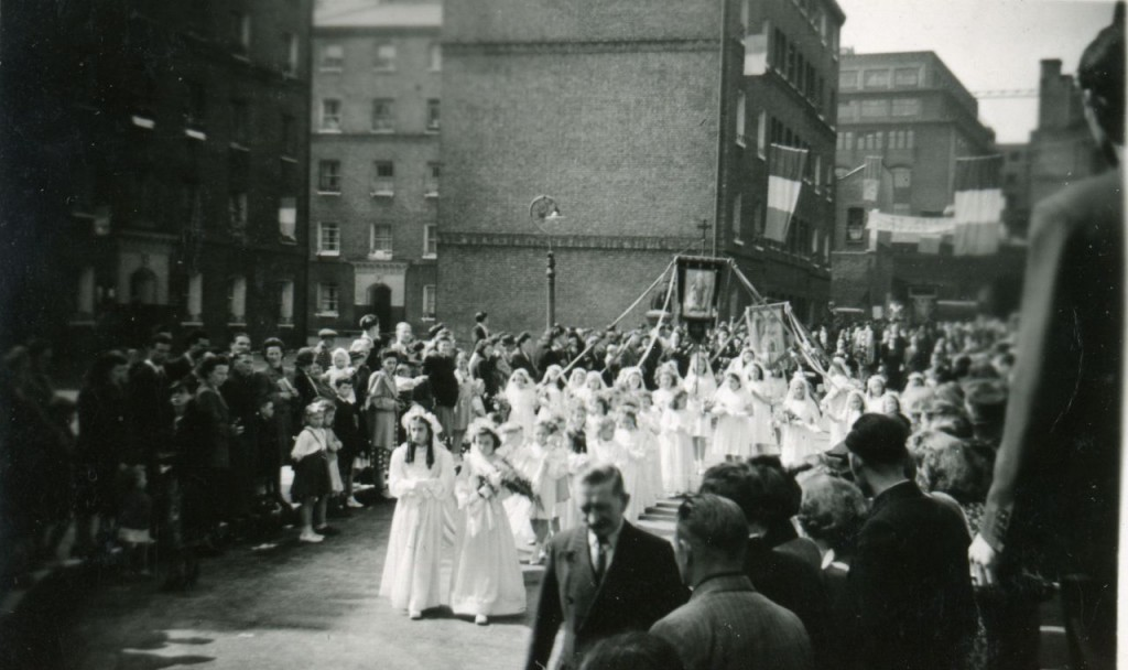 John Fisher Street Procession - The Irish East End