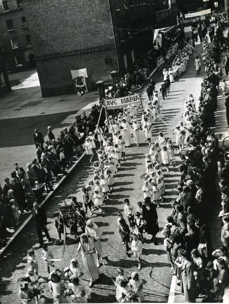 Procession 1950's, John Fisher Street