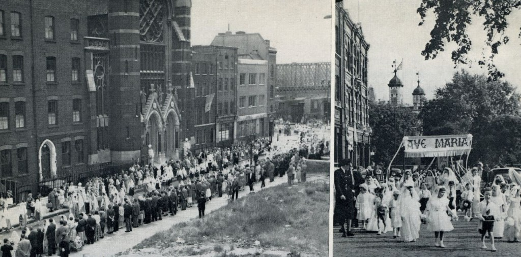 English Martyrs Procession 1960s