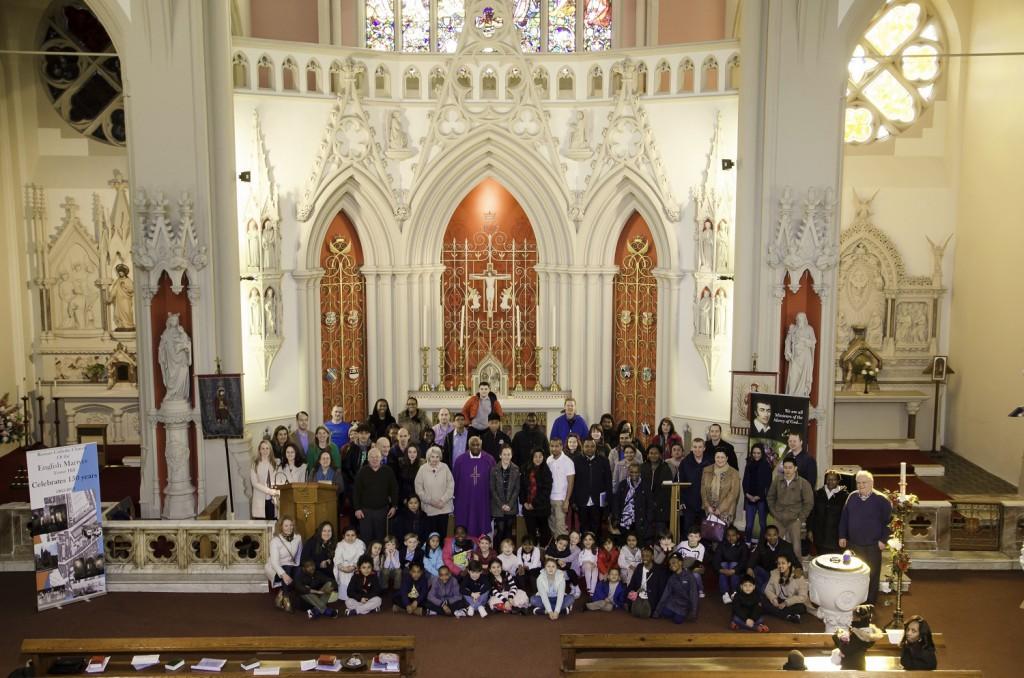 English Martyrs Parish, March 2015