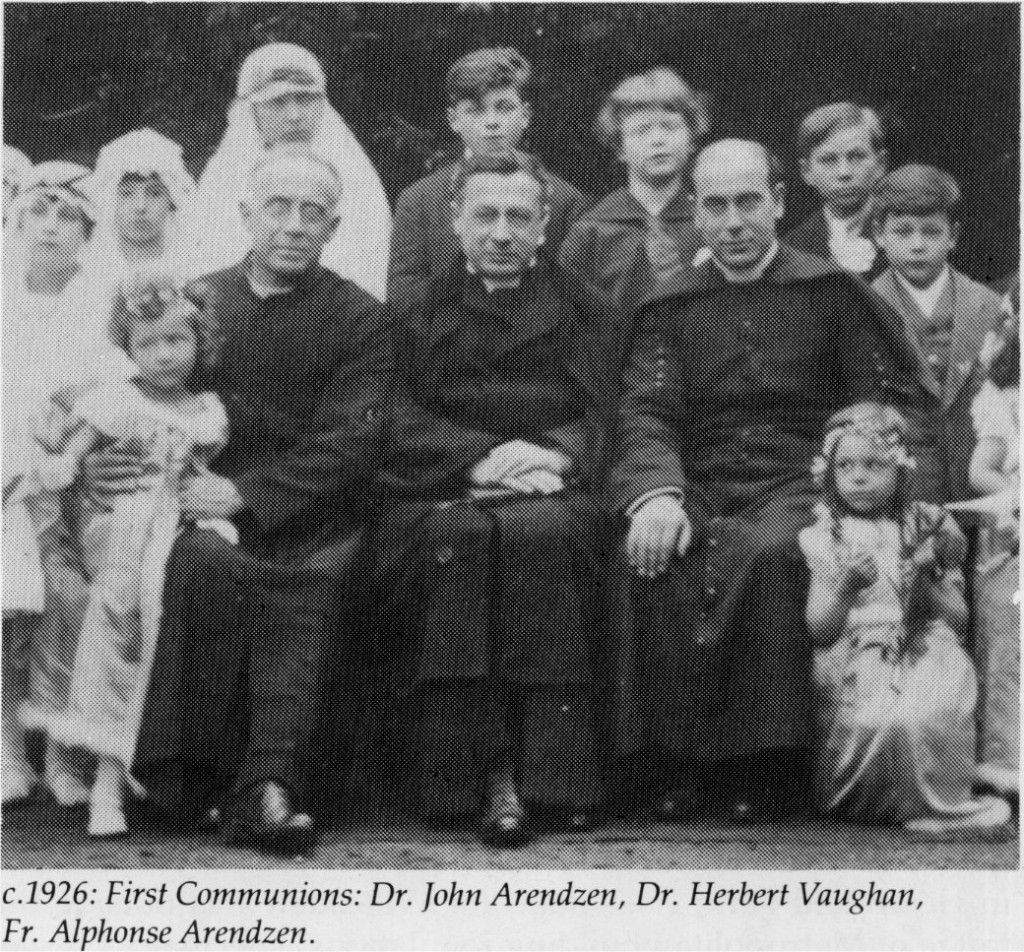 Firt Holy Communion about 1906