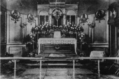 The Sanctuary in 1906