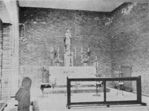 1939: spartan Lady Chapel.